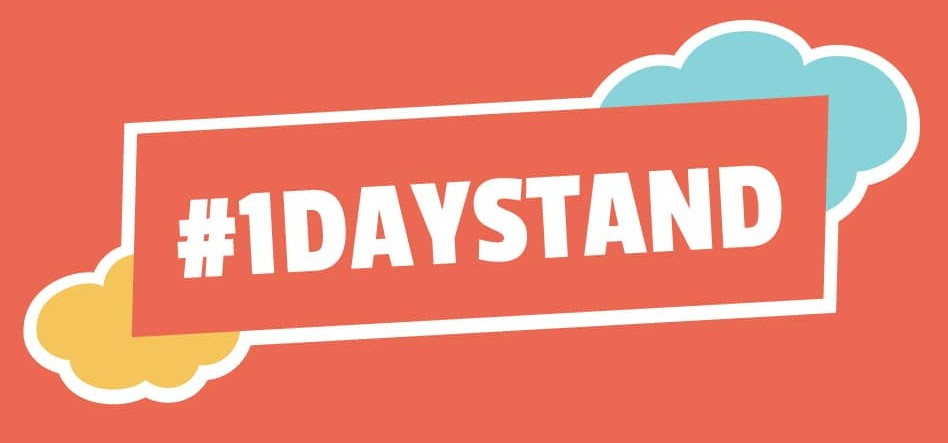 #1DAYSTAND Hashtag